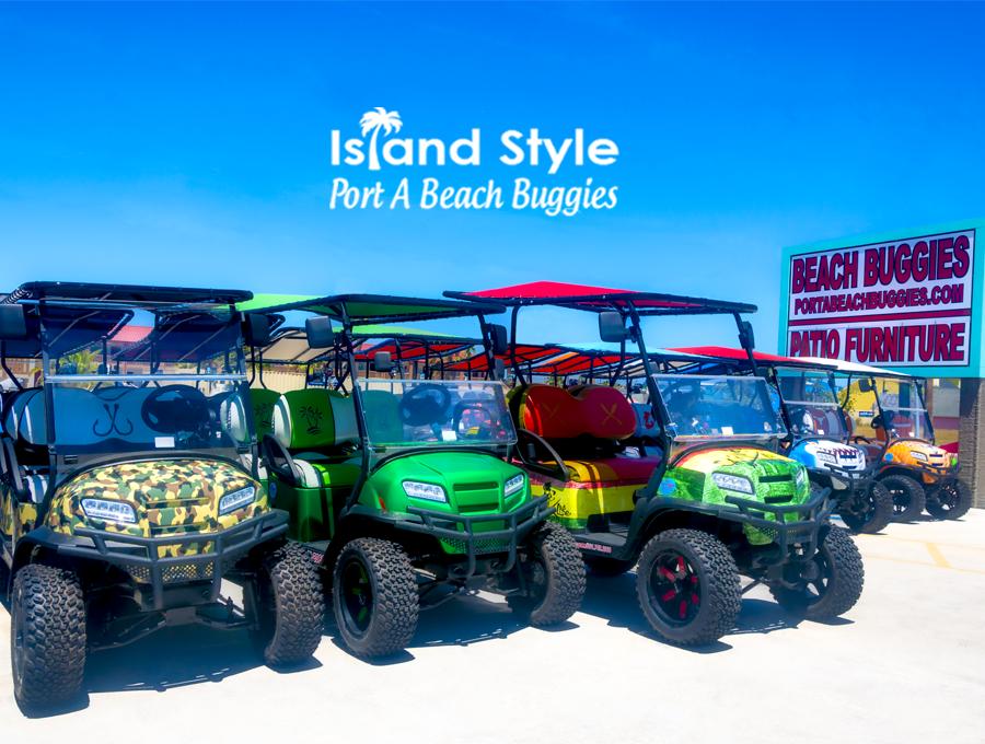 Port Aransas Golf Carts | Port A Beach Buggies on bmw golf cart, a golf house, a golf bag,